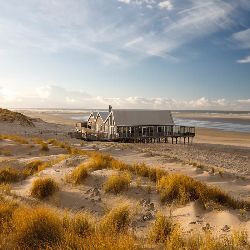 Ferienhaus am Strand in Mecklenburg-Vorpommern an der Ostseeküste