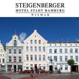 Ostsee Urlaub 3 - 6 Tage 4-Sterne Steigenberger Hotel Wismar Abendessen Wellness