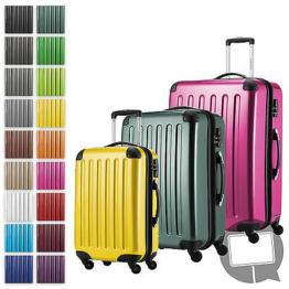 Alex Hauptstadtkoffer TSA Reisekoffer Trolley Kofferset Hartschalenkoffer Koffer