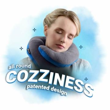 Bcozzy Kinnstütz-Reise-Nackenkissen - Unterstützt Den Kopf, Hals Und Das Kinn