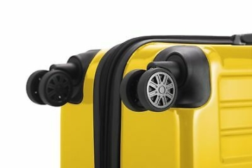 Hauptstadtkoffer XBerg 3er Kofferset gelb glanz Koffer Trolley Reisekoffer